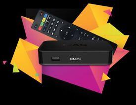 MAG 256 Genuine Infomir IPTV/OTT BOX