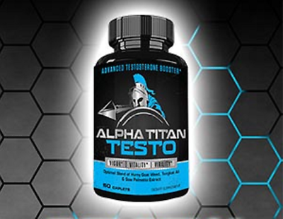 Alpha Titan Testo 60 caps, New & Sealed,Test Booster, Virility,Vigor,Vitality