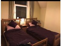 Twin bedroom available to rent for short to mid term lets