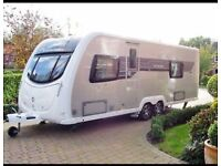 2013 Sterling caravan with end bedroom