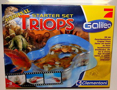 Clementoni Galileo 69694 Triops Starter Set Urzeitkrebse Experimentierbox NEU
