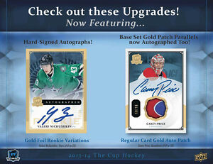 2013-14 Upper Deck The Cup Hockey Cards Box Kitchener / Waterloo Kitchener Area image 5