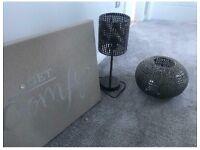 Next lamp and shade