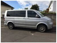 VW T5 Caravelle Multivan Camper 7 seater Folding Bed and Table 174BHP
