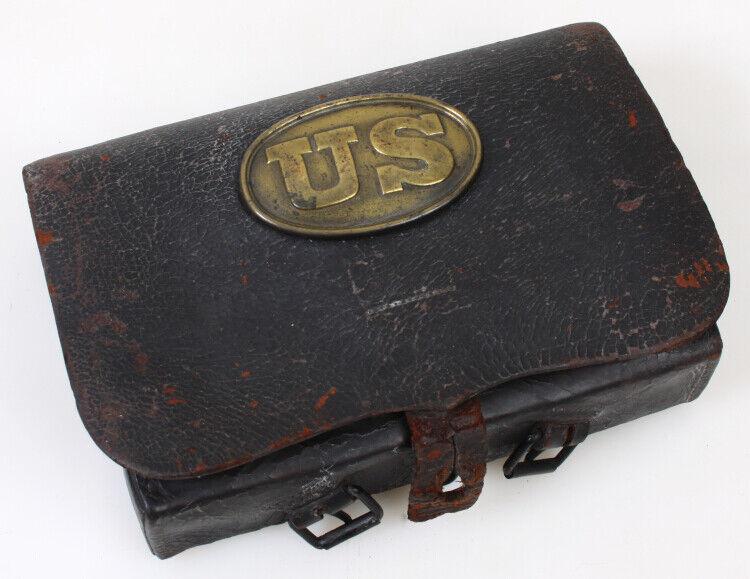 Civil War Cartridge Box - Model 1855, 68 CAC