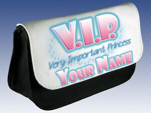 VIP-VERY-IMPORTANT-PRINCESS-PERSONALISED-PENCIL-DS-CASE-MAKE-UP-BAG-GIFT
