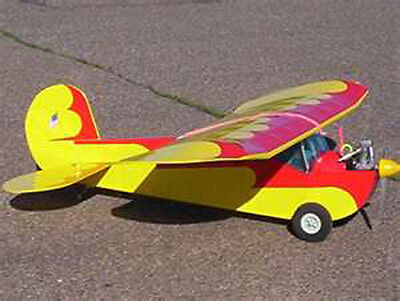 Clancy Lazy Bee Sport Plane Plans, Templates and Instructions 48ws