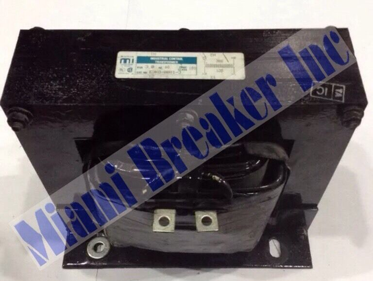 E3K0-0081-3  Cutler-Hammer / Micron Industrial Control Transformer 3.00 KVA