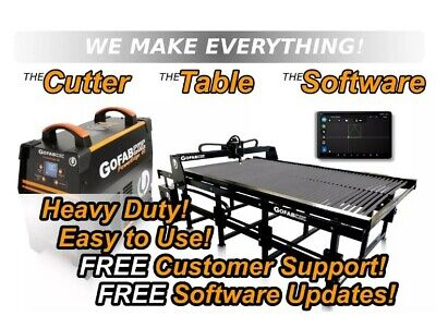 4x8 Cnc Plasma Table Complete System Package-plasma Cutter Poweredge80 Gofabcnc