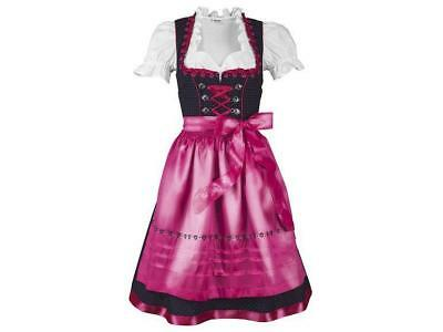 3 tlg ESMARA® Marken Damen Dirndl Trachten Oktoberfest Gr. 38 40 pink neu