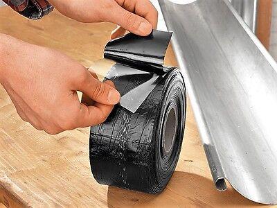 Bitumen Band 10mx7,5cm Reparatur Band Dach Rinne Abdichtband Klebeband Reperatur