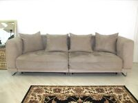 IKEA TYLOSAN 3 SEATER SOFA - DOUBLE BED WITH STORAGE (EASY SYSTEM) WITH COVER (SAND COLOUR
