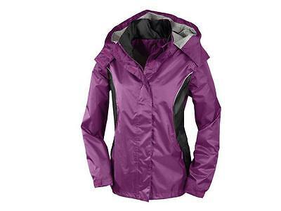 Crivit Outdoor Damen Regenjacke Jacke Wasserdicht Winddicht BIONIC FINISH® Gr. S