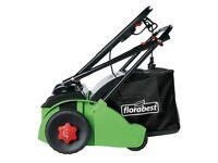Electric CULTIVATOR Lawn Scarifier Grass Aerator Plough Depth Rake Allotment DIY Garden Patio