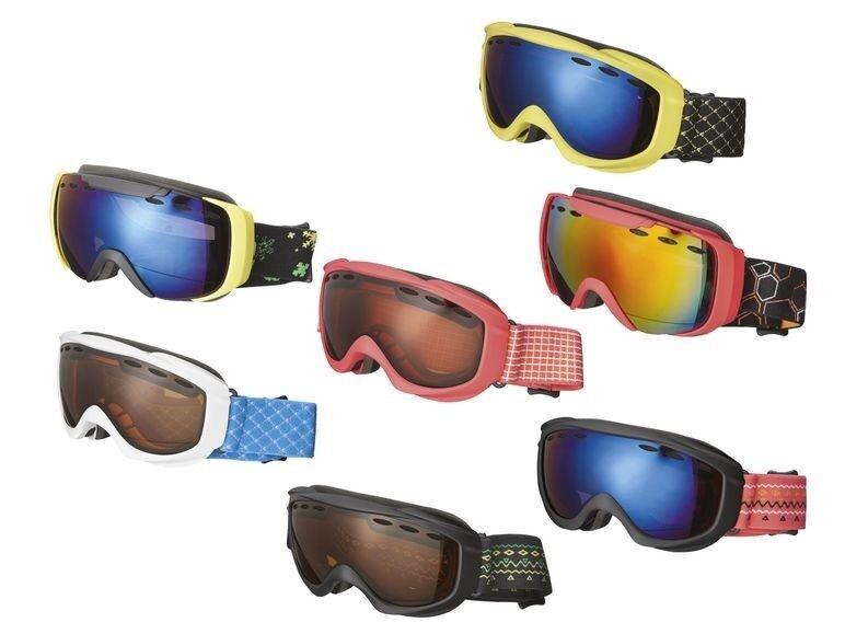 Ski und Snowboardbrille Kinder Skibrille 100% UV-Schutz verschiedene Farben NEU