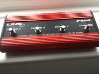 Line 6 Guitar Pedal / Controller FB4 - Control POD - CAT5