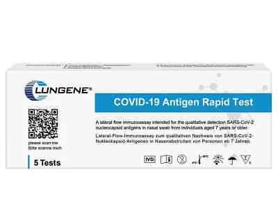 50 Clungene Corona Schnelltest Covid-19 Laien Selbsttest Antigen Test Kit BfArM