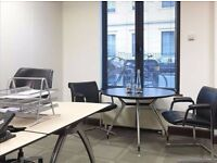 A five-storey building, with serviced offices that combine modern, innovative workspace