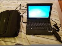 Samsung N145 plus Netbook with case - excellent condition with 2gb ram