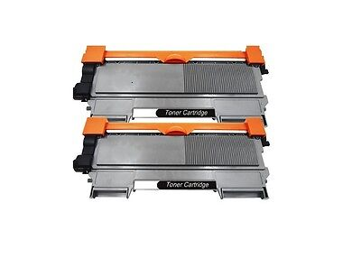2PK Brother Compatible TN630 TN660 High Yield Black Toner Cartridge NEW