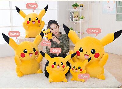 Giant Pokemon Go Pikachu Plush Soft Toy Teddy Figure Kid Xmas Gift Child Present