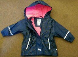 70 kids waterproof jacket/job lot/carboot