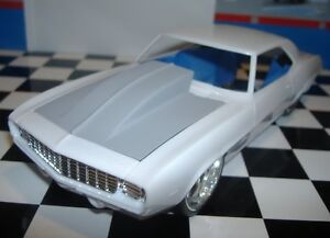 Resin-Outlaw-Hood-for-69-Camaro-Revell-1-25-HOT
