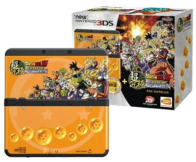 Nintendo New 3DS Dragon Ball Z Extreme Butoden Edition