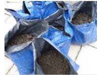 Bagged top soil