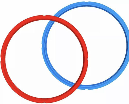 Genuine Instant Pot Sealing Ring 2-Pack - 6 Quart Red/Blue - $9.99