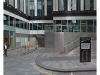 Secure covered 24/7 Parking in ***SPINNINGFIELDS*** Short walk to DEANSGATE & QUAY STREET (1407)
