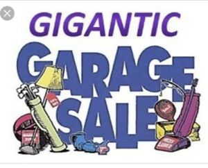 Garage Sale - May 26, 8:00 am to 4:00 pm