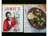 Cookery book jamie oliver 15 minute meals excellent condition recipes