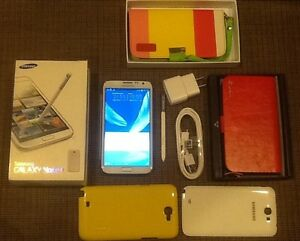 Samsung GALAXY Note2 with anti scatch screen guard.