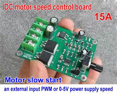 Dc5-18v 15a Motor Speed Controller Pwm Module Stepper Speed Control Board
