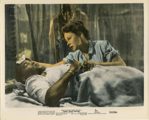 3 SUSAN HAYWARD White Witch Doctor Orig 1953 Color Photos