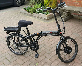 Halfords Coyote Connect Folding Electric Bike VGC. used 5X