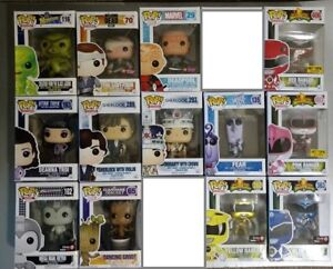 FUNKO POP VINYL - DEADPOOL, POWER RANGERS, DISNEY, ETC.