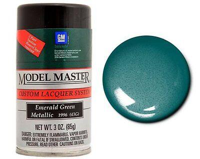 Testors Model Master Metallic Emerald Green Spray Paint Can  3 oz.  28119 - Emerald Green Metallic