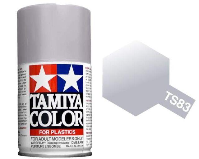 Tamiya 100ml TS-83 Metallic Silver # 85083