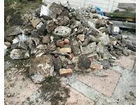 Hardcore rubble / Rocks for Rockery - Upper Stratton