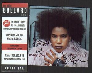 MACY GRAY AUTOGRAPHED CD, THE ID, 2003