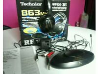 Technics RP-WF920 - RF Wireless cordless headphones