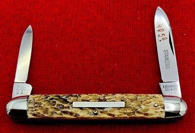 Vintage H BOKER & CO SOLINGEN Equal End Pen Pocket Knife c.1919-1944 Stainless