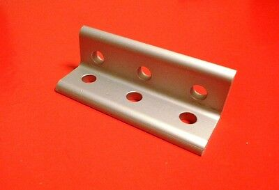 8020 Inc Equivalent Aluminum 6 Hole Inside Corner Bracket 10 Series Pn 4015 New
