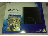 Ps4 ultimate player 1TB brand new & sealed with Fifa 17 also new & sealed