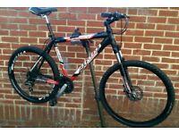 "Planet Atala Aluminum 26"" Wheels Shimano Acera 24 Speeds Bike"