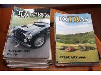 Triumph TR and GT6/Spitfire magazines