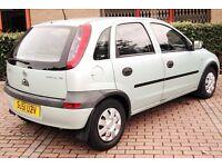 Vauxhall Corsa 1.2 Long Mot Cheap Insurance 5 Door 50mpg 2 Owners Service (swap yaris corolla ibiza)