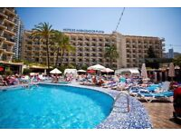 One weeks holiday, 16-23 January 2018 at the Ambassador Playa 2, Benidorm, Costa Blanca